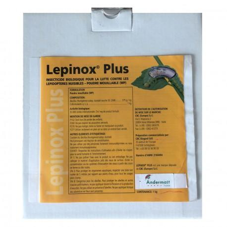 Lepinox® Plus - Insecticides Biocontrôle - Andermatt France