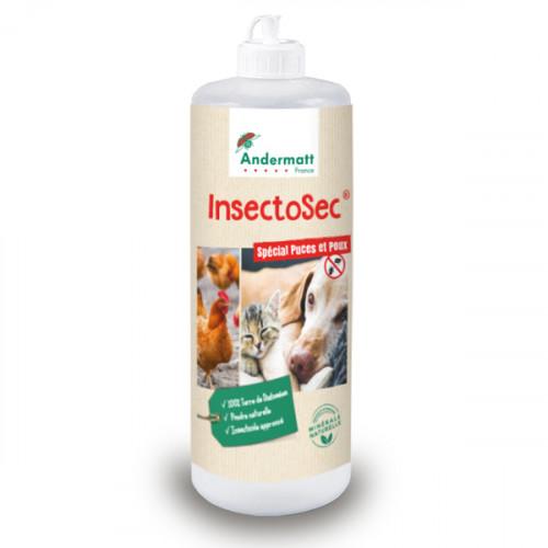 Insectosec Puces & Poux Rouges - Boîte Poudreuse 200 G
