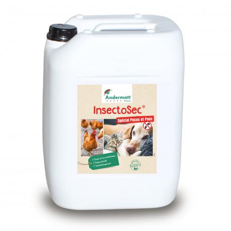 Insectosec Puces & Poux Rouges - Bidon Prêt à l'Emploi 5 L
