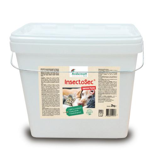 Insectosec Puces - Seau Rectangulaire 2 KG