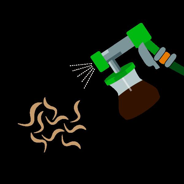 nematodes auxiliaires