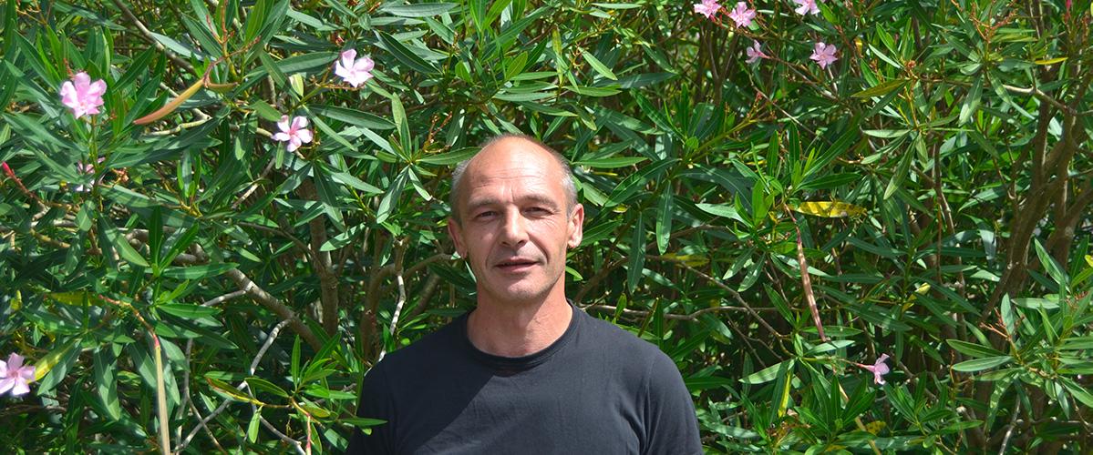 Laurent Poulet Référent Agriculture Biologique Andermatt France