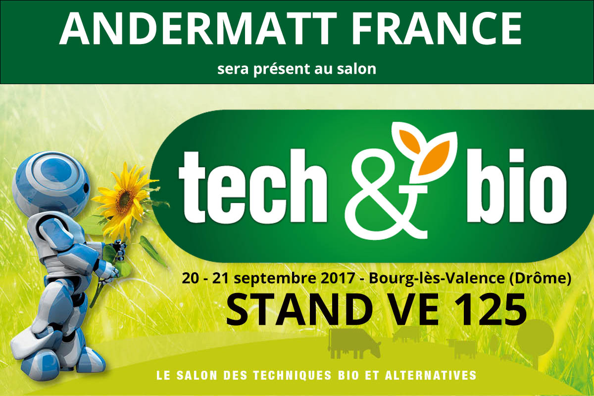 Andermatt France salon Tech&bio