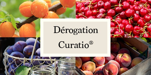 Dérogation du Curatio